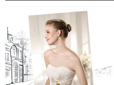 Los trajes de novia de Tim & Barret