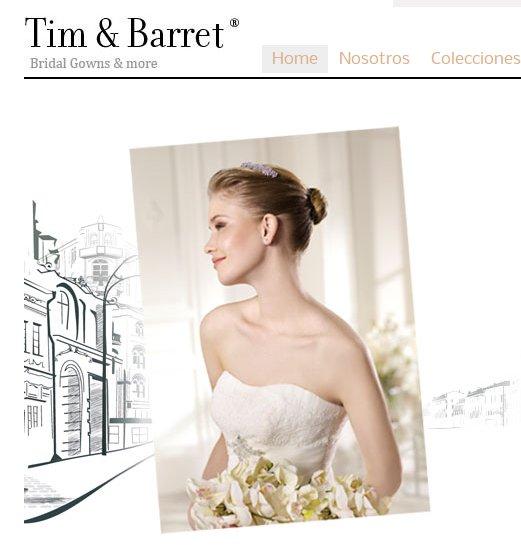 Trajes de novia Tim & Barret