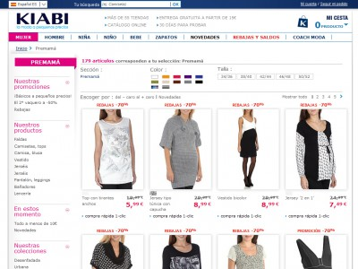Cuidado con la ropa online barata