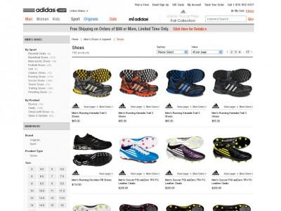 Adidas, increíbles descuentos en zapatillas online