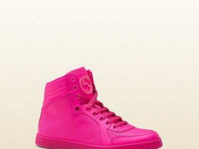 Gucci lanza su nueva línea de Zapatillas para mujer