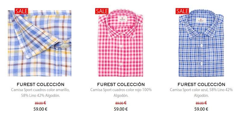 Camisas en Furest