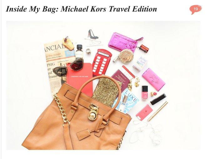 Complementos Michael Kors