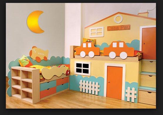 Decoración moderna habitación bebé