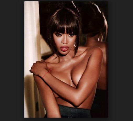 Naomi Campbell modelo