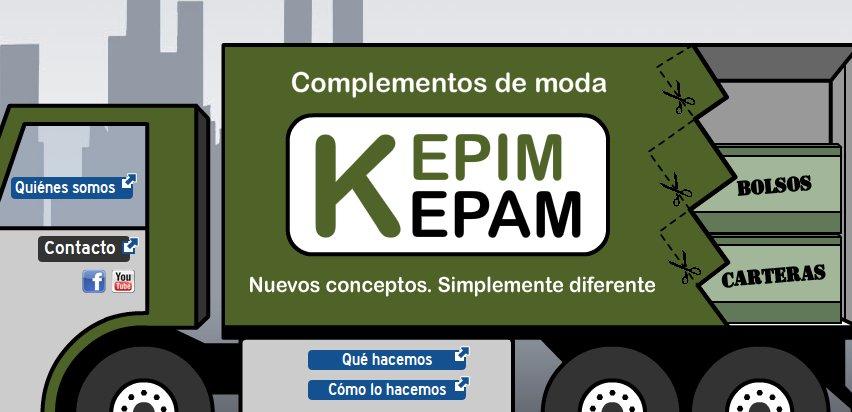 bolsos y carteras Kepim Kepam