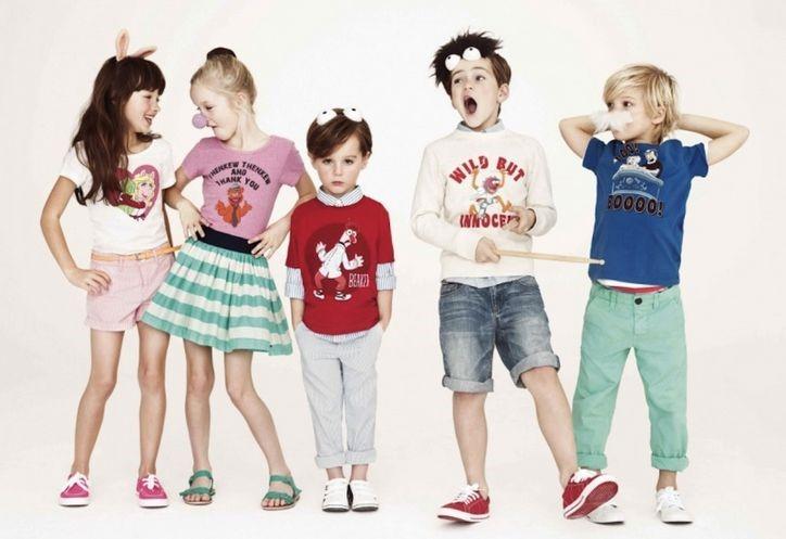 moda de bebés y niños