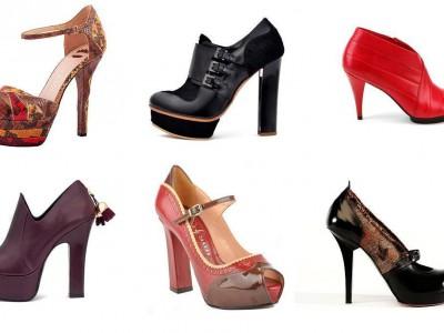 Moda en zapatos para el invierno