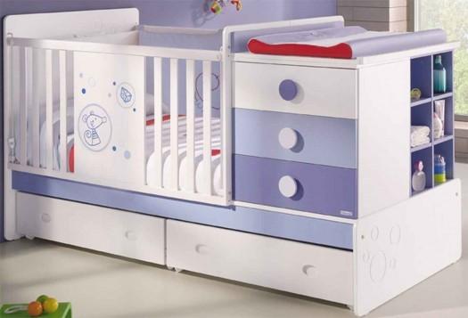Multiusos y pr cticos as son los muebles para beb este - Muebles para habitacion de bebe ...
