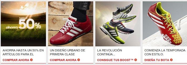 rebajas en el outlet Adidas