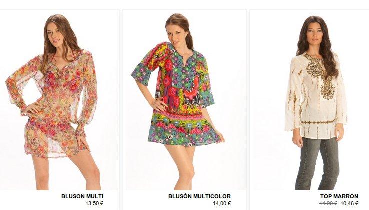 tiendas de ropa de moda femenina