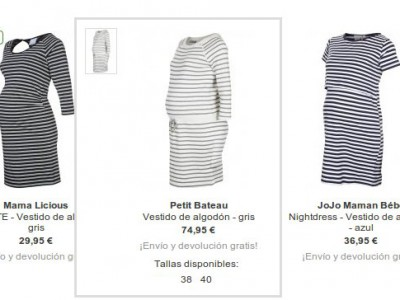 Vestidos premamá: 3 opciones para vestir cómodas y elegantes