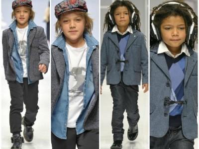 Vestidos de niños, nuevas direcciones