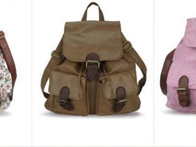 Mochilas y bolsos vintage para este 2013