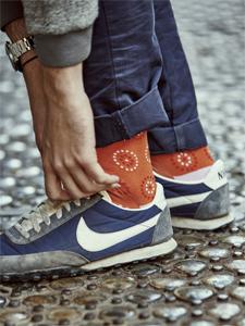 El destape del calcetín