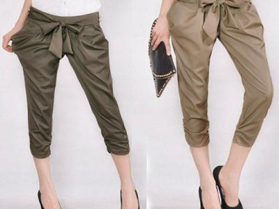 Pantalones cortos... La idea de llevar el tobillo al aire