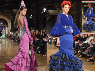 Trajes de flamenca para las fiestas Sevillanas