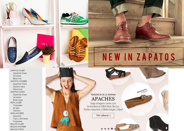 Zapatos online
