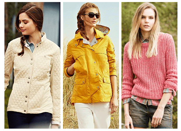 Jerseys y Chaquetas Barbour