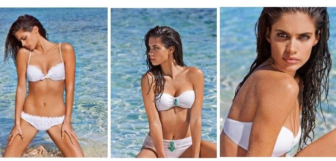 Bikinis blancos Calzedonia
