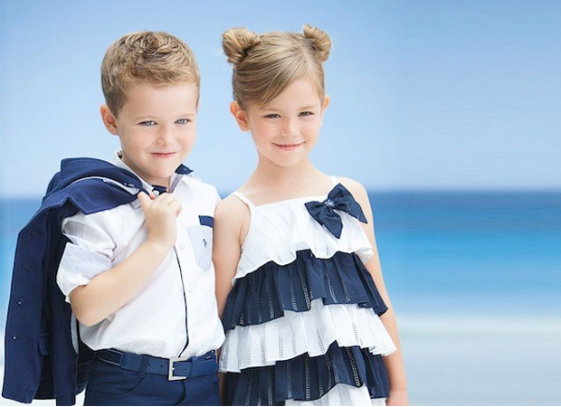 Moda infantil marineros