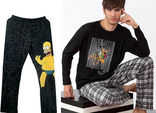 Pijamas de personajes para hombre