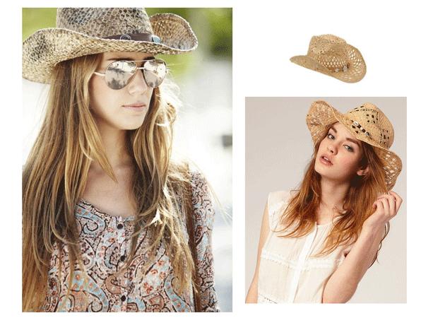 Sombrero de cowgirl