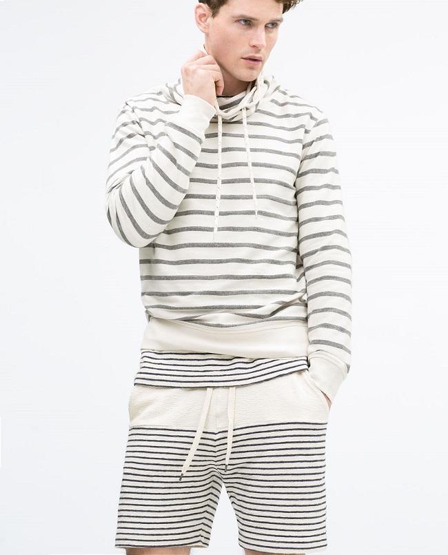 ropa de rayas hombre