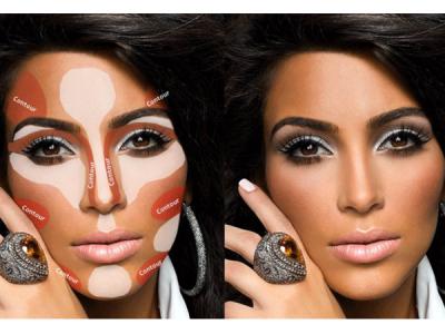 Contouring, lo último en maquillaje