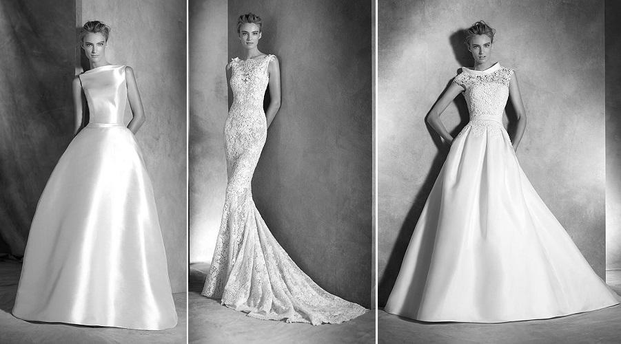 vestidos de novia para triunfar - mucha más moda | mucha más moda