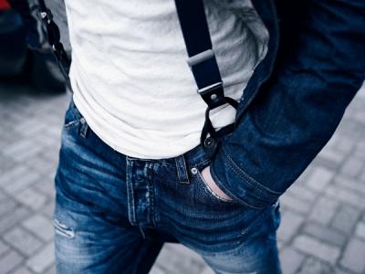 Vuelven los tirantes a la moda masculina