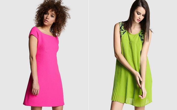 vestidos de noche color