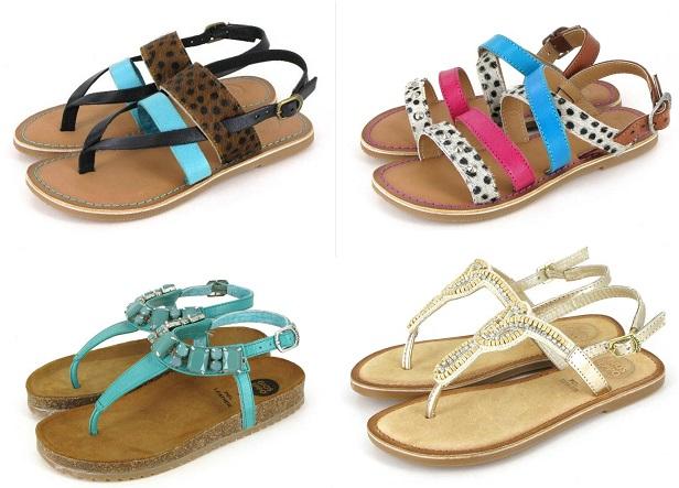 zapatos de niña verano