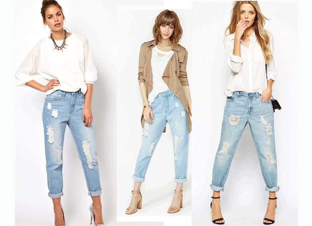 Boyfriend Jeans de moda
