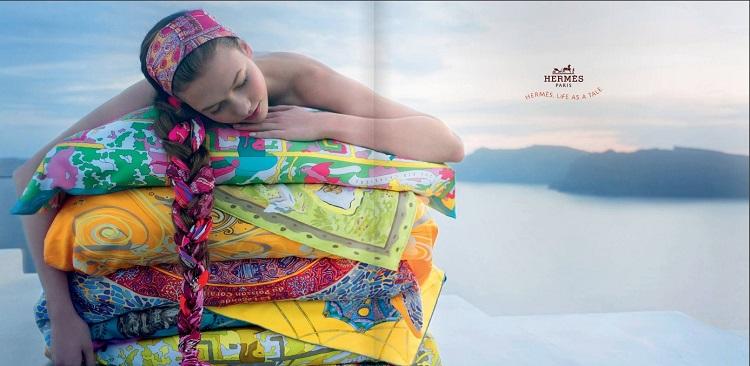Hermès pañuelos