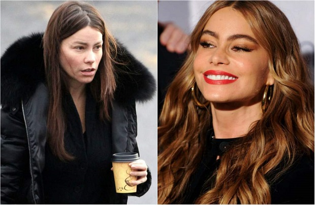 SOFIA VERGARA sin maquillaje