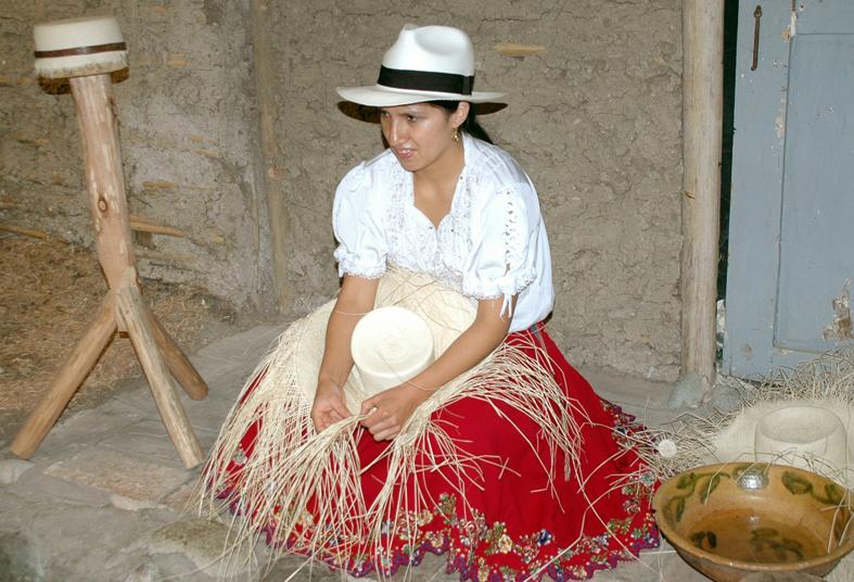 artesanía jipijapa