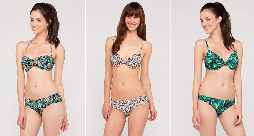 bikinis c&a print