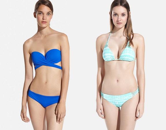bikinis oysho azul