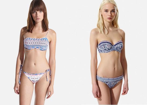 bikinis oysho estampados