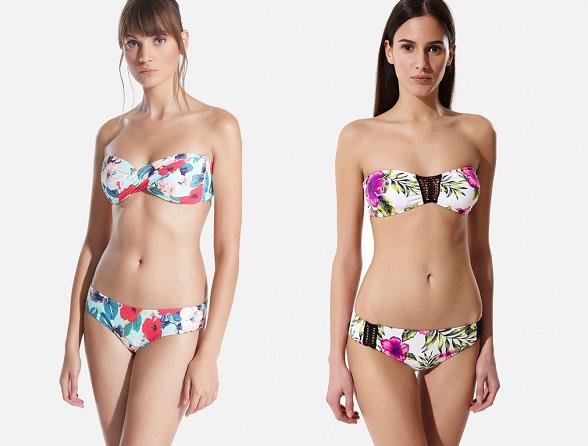 bikinis oysho flores