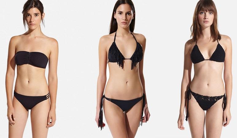 bikinis oysho negros