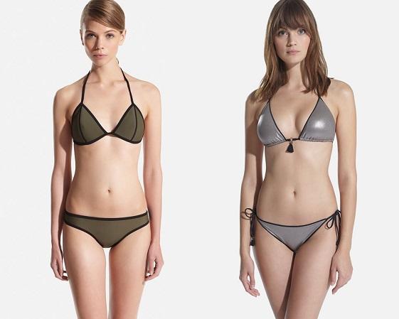 bikinis oysho triángulo