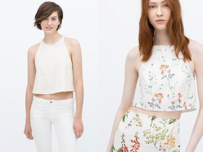 Cropped top la tendencia de este 2015