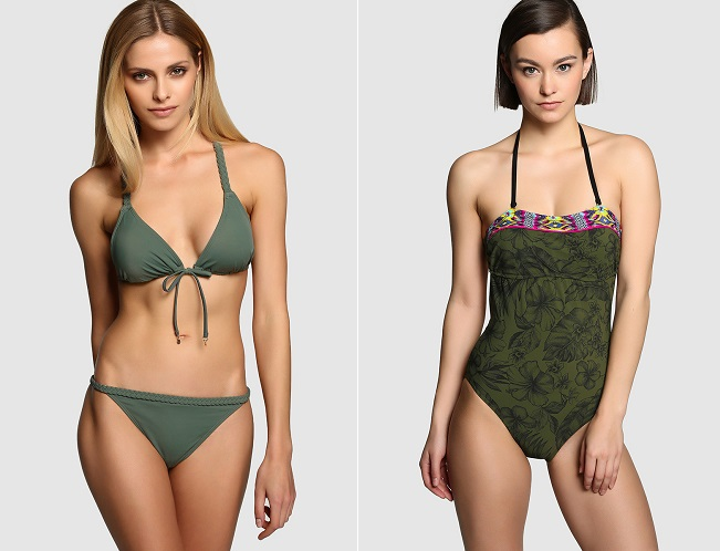 look militar bikinis ECI