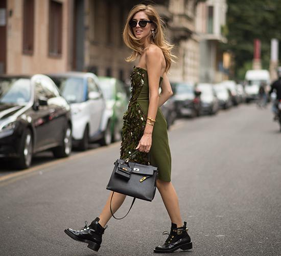 look militar street style