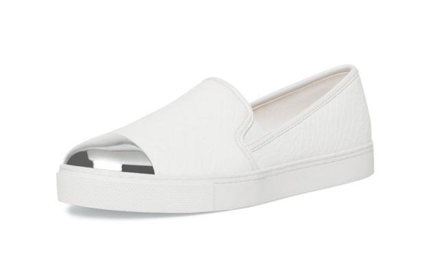 vans blancas stradivarius