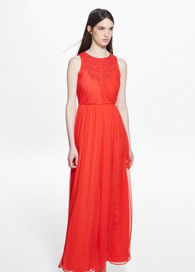 vestido rojo rebajas 2015