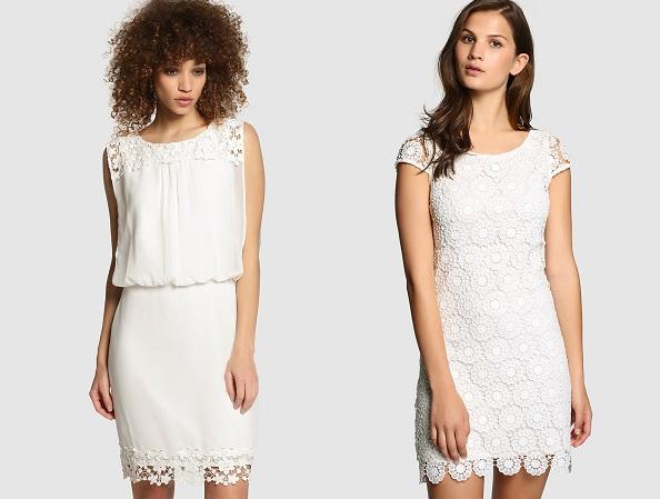 vestidos blanco moda