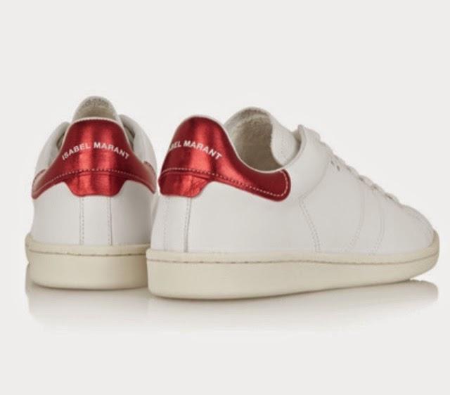 zapatillas blancas isabel marant